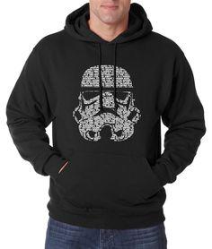 2016 autumn new fashion casual men hoodies Star Wars Darth Vader men sweatshirts fleece high quality hip hop style streetwear