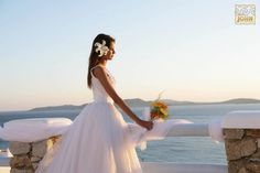 A magical wedding in Mykonos, with its spellbinding beauty adding to the most wonderful day of your life! More at saintjohn.gr