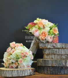 #summer #dahlias #gardenroses #bride #bridesmaids #bouquets