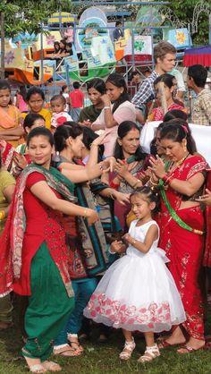 Teej Festival, Pokahra, Nepal