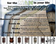 Scentsy: For the man in your life ScentsbyKris.scentsy.us