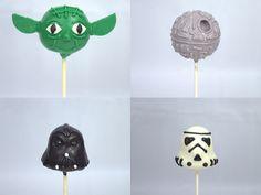 Star Wars Cake Pops   Flickr - Photo Sharing!