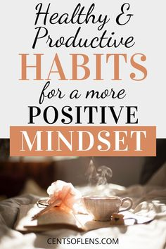 Do you struggle with staying positive? Find out how these healthy and productive habits can help you achieve a more positive mindset! Positive Living, Staying Positive, Positive Mindset, Healthy Lifestyle Tips, Healthy Habits, Relationship Breakdown, Positive Thinking Tips, Habits Of Successful People, Meaningful Life