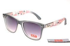 84b3ff795f Ran-Ban Rare Print 25093 RB06 Wayfarer Sunglasses