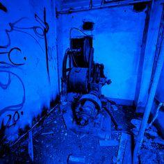 Elevator Blue