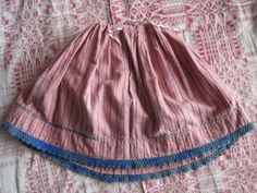 Flannel Petticoats for Early Dolls