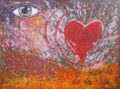 El círculo de la vida - Acrílico sobre lienzo - 100 x 136 cm - Amgros Arte - Colección inspiracional
