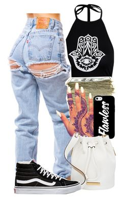 """Untitled #876"" by kaja-bear ❤ liked on Polyvore featuring SEN, Marc by Marc Jacobs and Vans"