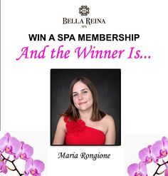 July's Spa Membership winner, Maria Rongione came in today for a relaxing Spa Massage. This month's winner could be you!