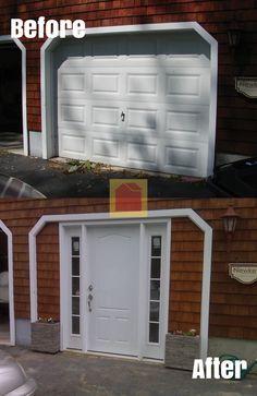 Convert Garage Double Door To Windows Google Search
