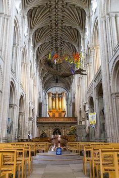 Size: 24x16in Poster: Norwich Cathedral Interior, Norwich PosterWe have more Charlie Harding Posters. Choose from our catalog of over 500,000 posters! Norwich England, England Uk, Norwich Cathedral, Uk Europe, Catalog, Posters, Interior, Products, Indoor