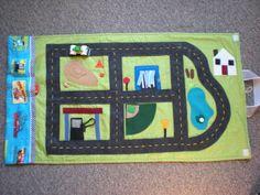 car mat - travel mat idea not necessarily the layout
