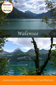 Beautiful places of Switzerland - Walensee - Canton St. Seen, Bad, Switzerland, Restaurants, Beautiful Places, History, Videos, Nature, Travel