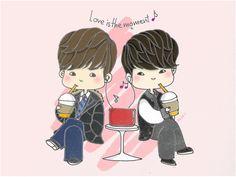 Kim Tan and Choi young Do fan art.!