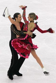 Tanith Belbin & Benjamin Agosto -Ice Dancing costume inspiration for Sk8 Gr8 Designs