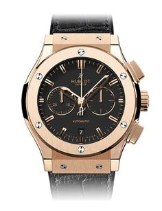 Hublot Classic Fusion Chronograph King Gold Watch. King Gold is the name of the new 18 carat gold alloy used by Hublot. Its exclusive color is even redder than traditional rose gold. Hublot increased the percentage of Copper and added Platinum in order to stabilize the color over the years and to neutralize the oxidation.