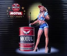 Motul pin-up advertisement - 1928 Gas Service, Garage Signs, Chip Foose, Gas Pumps, Quote Posters, Car Stuff, Pin Up Girls, Cars And Motorcycles, Vintage Posters