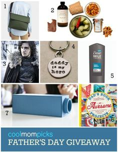 Pretty rad Father's Day giveaway that's not just for Geek dads. #fatherhood #love #kids