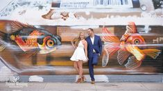 MARION + JACOB'S | WYNWOOD WALLS ENGAGEMENT SHOOT Michael - cool picture. Woman looks like the star, I like it.