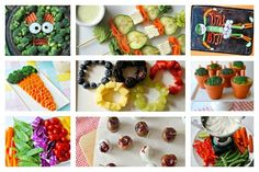 8 Ways to Make Fruit and Veggies Fun at Your Next Kid's Party