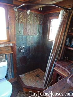 """Tiny Texas Houses - """"Little Sister"""" - Tiny homes built from salvaged materials."""