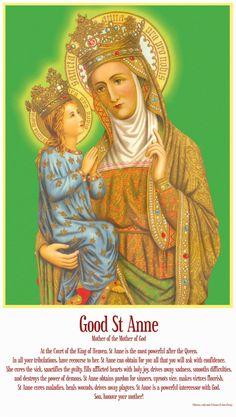 Saint Anne & Mary