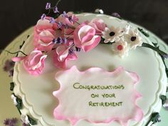 Sugar Flowers, Birthday Cake, Desserts, Food, Tailgate Desserts, Birthday Cakes, Dessert, Postres, Deserts
