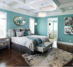 dormitorio-gris-turquesa