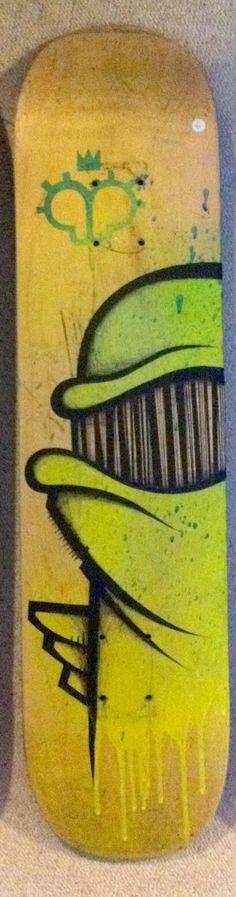 Green Board : Peintures par bishopparigo