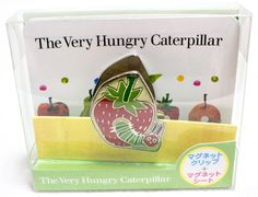 Eric Carle The Very Hungry Caterpillar Magnet Clip & Seat JAPAN 2