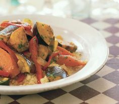 Spicy Vegetable Tagine With Couscous | Eating an exclusively plant-based diet can be incredibly satisfying and tasty—especially with these hearty recipes.