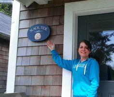 Slack Tide House Sign