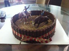 Rodeo Cowboy Cake