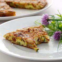 Tortilla de Patatas - super leckeres Kartoffel Omelette - das geheime spanische Nationalgericht #food #comida