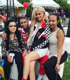 Kylie Jenner and Tyga throw Ferrari birthday party for son King Cairo Chyna And Tyga, Blac Chyna, Tyga And Kylie, Kendall And Kylie Jenner, Snapchat, White Leotard, Bikini, Jenner Style, Kardashian Jenner
