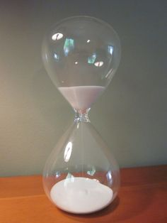 like sands through the hourglass so are the days of our lives.