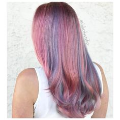 We knew it was love at first sight when we laid eyes on @violetthestylist\'s #MetallicMuse creation  I utilized all 5 of the new Joico Cabigting #metallic shades to create 6 custom formulas marrying #cool and #warm metallic tones.  I\'m loving how soft and dimensional this looks with any style.  #JoicoMetallics are available at #cosmoprofbeauty - have you created your Metallic Muse?  #repost #violetthestylist #joico #metallichair #rosegoldhair #unicornhair #licensedtocreate