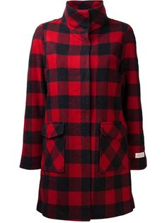 WOOLRICH - buffalo plaid coat 7