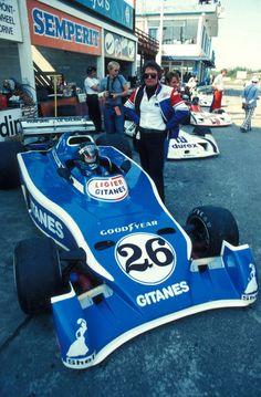 Jacques Laffite Ligier - Matra 1976