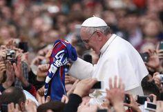 San Lorenzo to name stadium after Pope