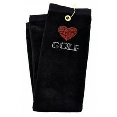 Got Golf Gifts - Only golf here! Golf Towels, Golf Gifts, Black Crystals