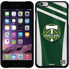 Portland Timbers Jersey Design on Apple iPhone 6 Plus Thinshield Snap-On Case