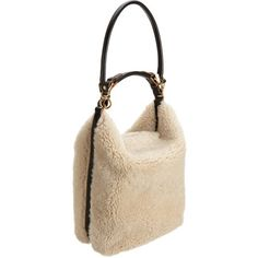 Marni Shearling Hobo Bag at Barneys.com