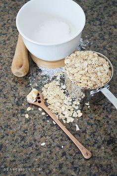 DIY Honey Oat Epsom Salt Soak - Enjoy the soothing and healing ...