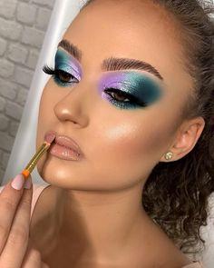 Wimpern - Jaten Make-up Eye Makeup Cut Crease, Eye Makeup Art, Sexy Makeup, Full Face Makeup, Makeup For Green Eyes, Pink Makeup, Glam Makeup, Eyeshadow Makeup, Makeup Looks