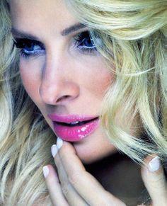 Eleni Menegaki Hair + make-up by Panos Kallitsis