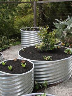 Industrial Garden Beds
