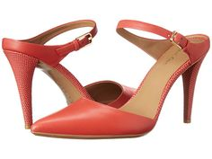 Calvin Klein Ginnie Lacquer Red Cow Silk - Zappos.com Free Shipping BOTH Ways