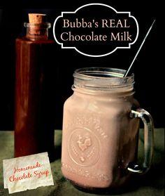 Recipe: Real Chocolate Milk (Homemade Chocolate Syrup)