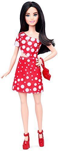 Barbie-Fashionista-Petite-Dark-Haired-Doll-with-2-Additional-Outfits